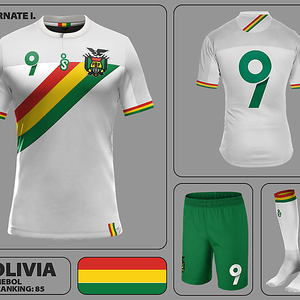 Bolivia Away Kit I.