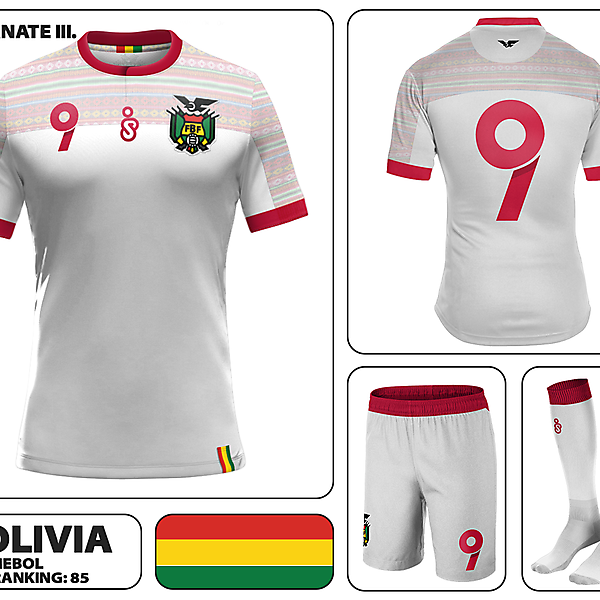 Bolivia Away Kit III.