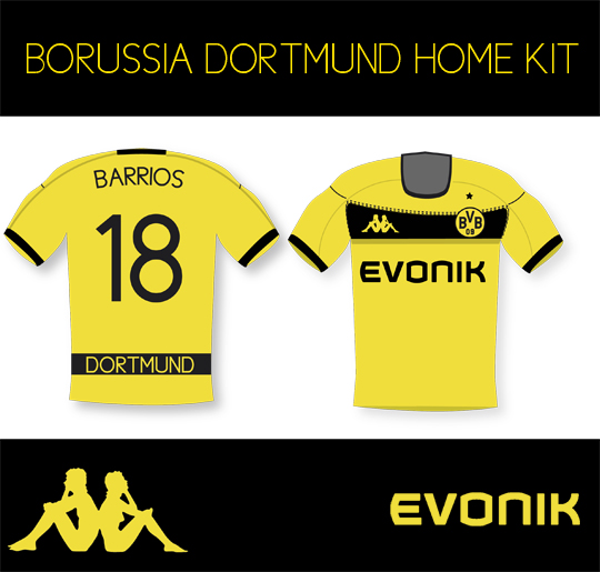 Borussia Dortmund Home kit