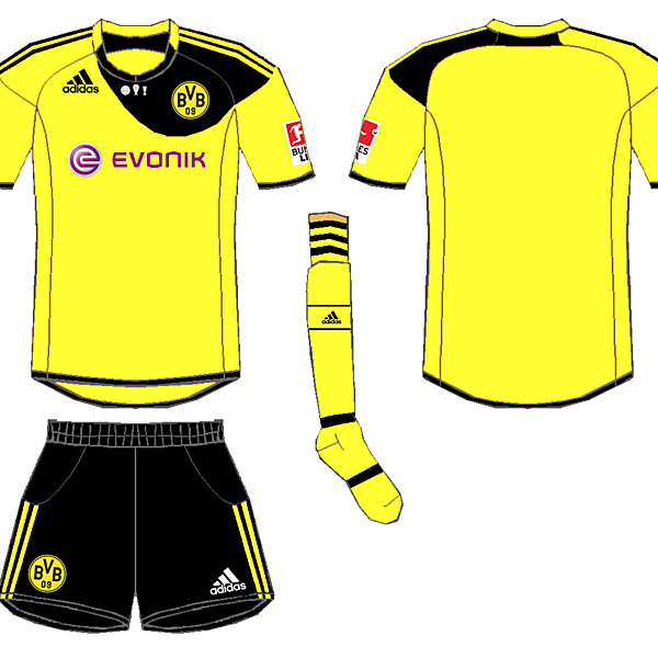 Dortmund Adidas Home Kit