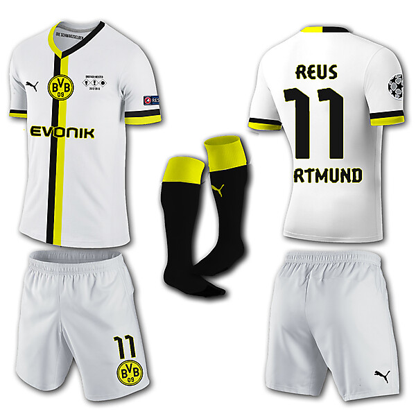Borrusia Dortmund Away Kit