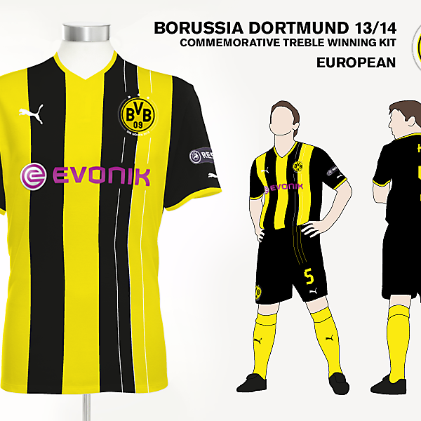 Borussia Dortmund European Kit