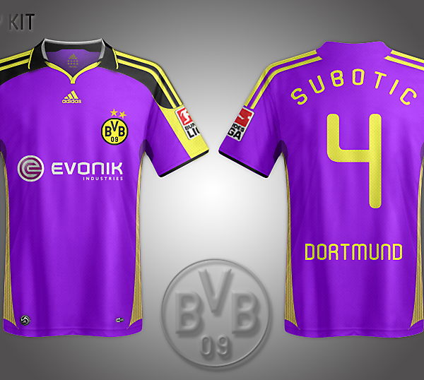 BVB Away Kit
