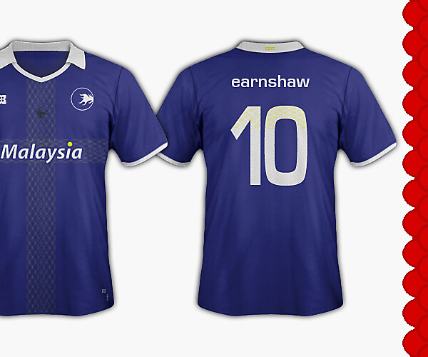 Cardiff City FC - Welsh Dragons - Away kit