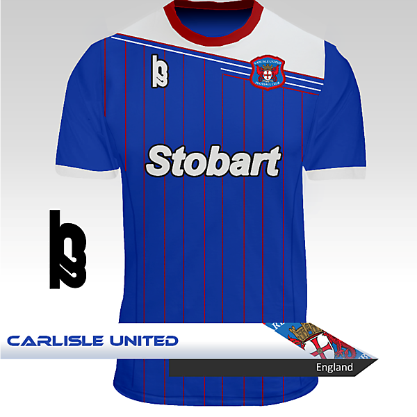 Carlisle United Home Kit - H22
