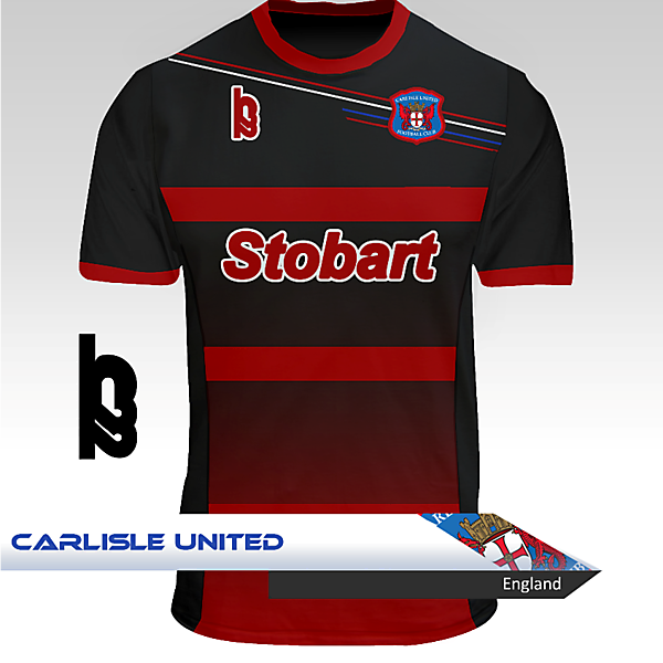 Carlisle United Away Kit - H22