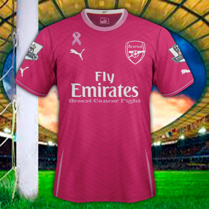 Arsenal Breast Cancer Fight
