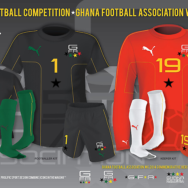 GFA WC 2014 Away Kit