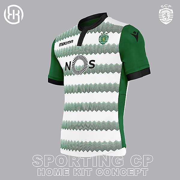Sporting CP | Home kit concept
