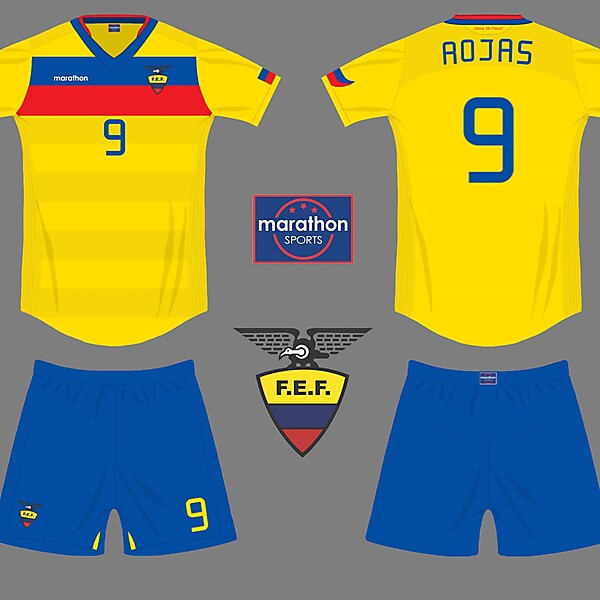 Ecuador home kit for competition