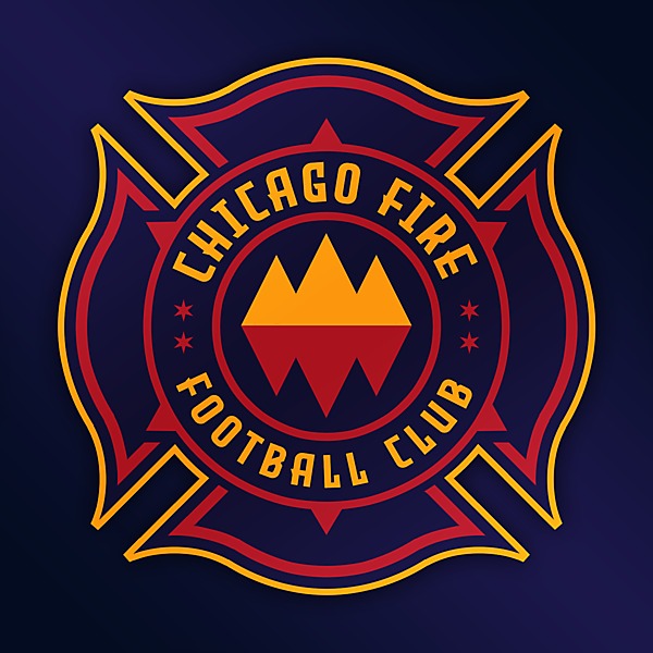 Chicago Fire | Crest Redesign