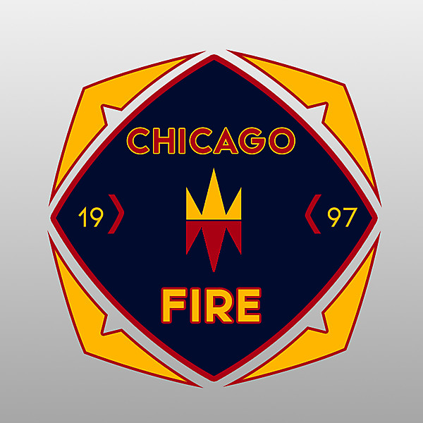 Chicago Fire F.C. Official Logo