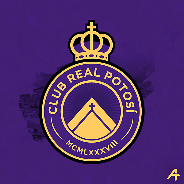 Club Real Potosí logo redesign