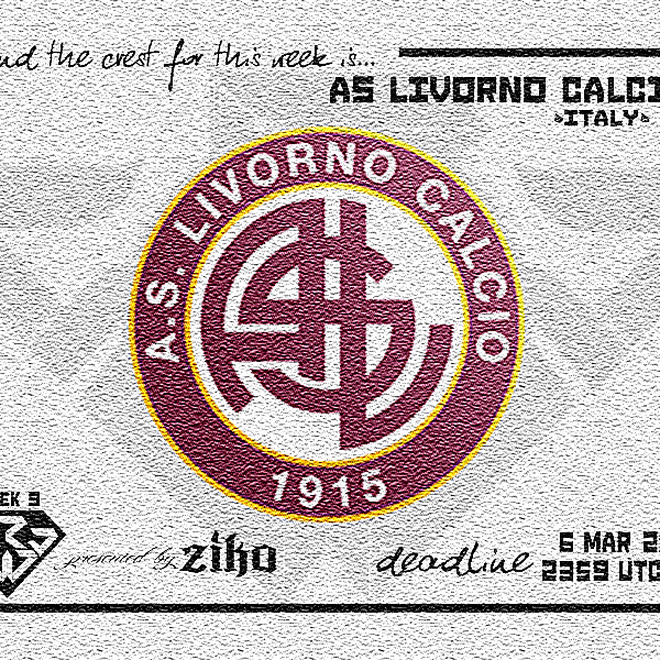 CRCW - WEEK 9: AS Livorno Calcio