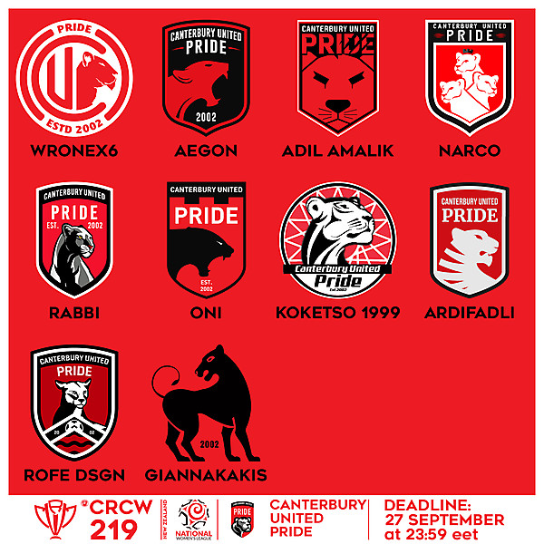 CRCW 219 VOTING - CANTERBURY UNITED PRIDE