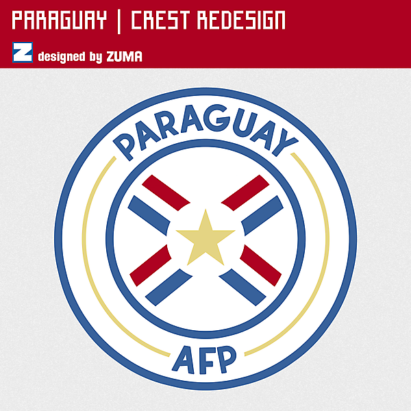 Paraguay | Crest Redesign