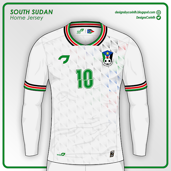 South Sudan | Home Jersey