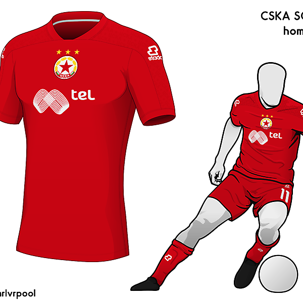 CSKA Sofia - Home Kit