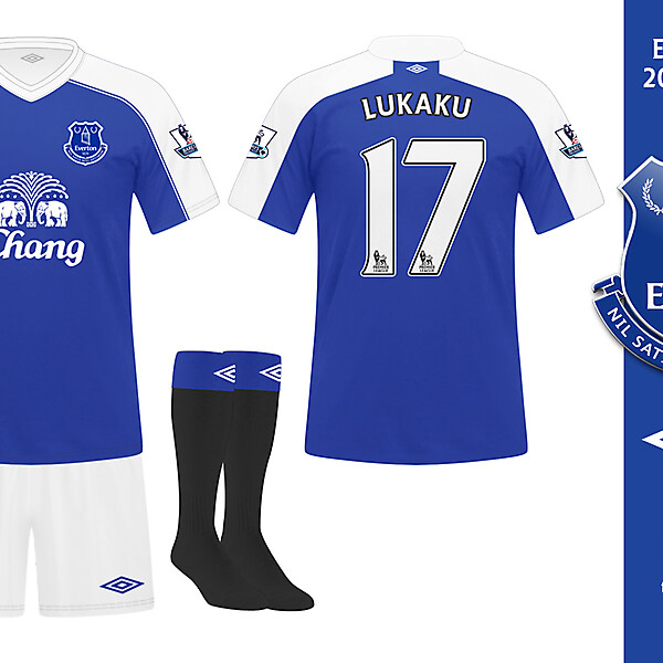 Everton 2014 / 2015 Home Kit