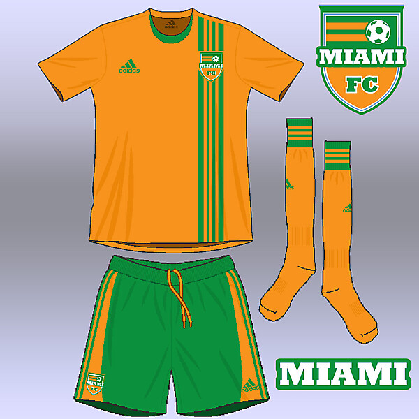 Miami FC away kit