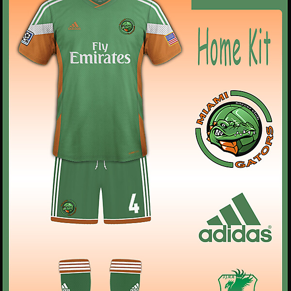 MIAMI Gators Home Kit