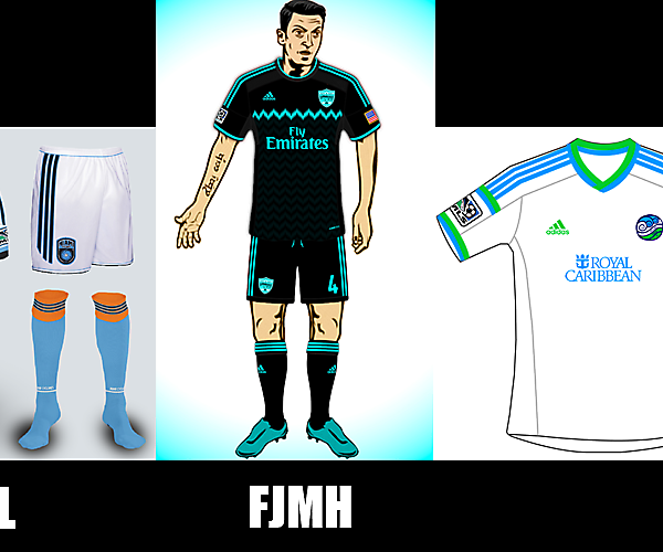 Miami Team - Best Away Kit Vote