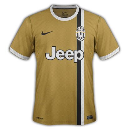 Juventus fantasy kits with Nike