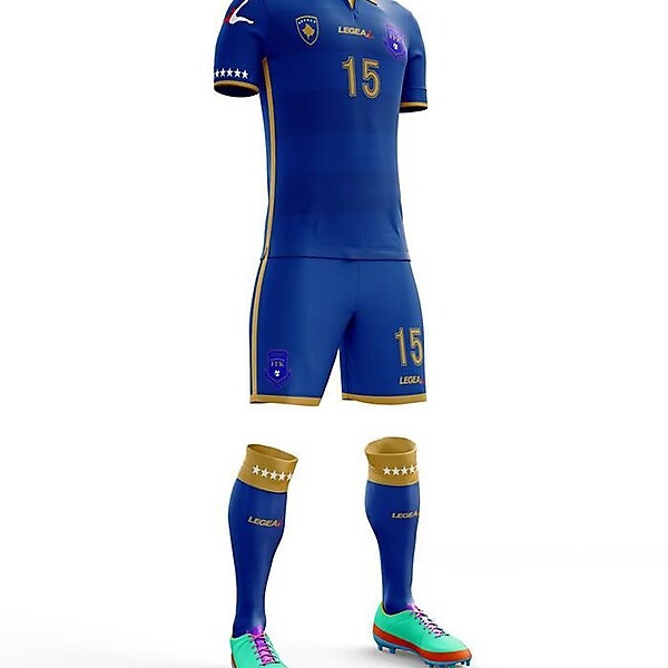 Kosovo x Legea - Home kit