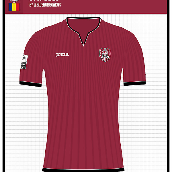 CFR Cluj Home Shirt- @bluehorizonkits