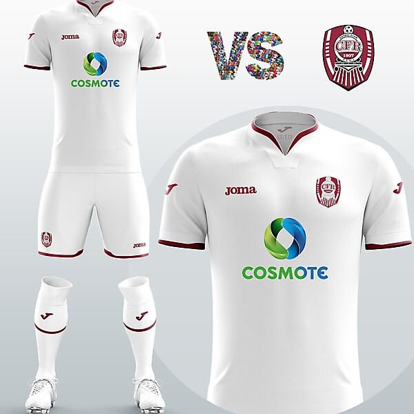 Cluj Away kit