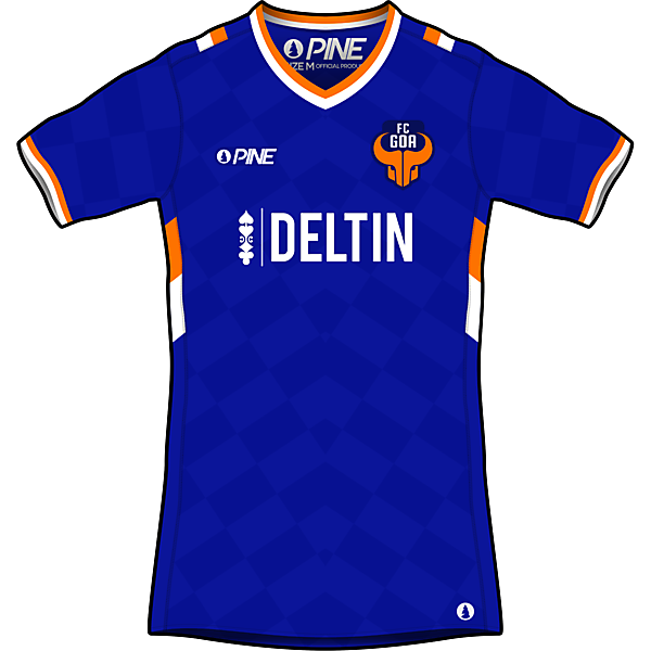 FC Goa Home Kit Design by Pine