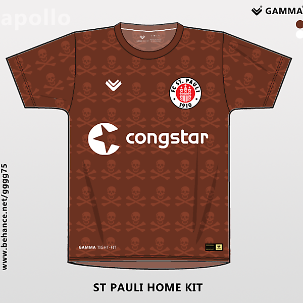 st.pauli home kit