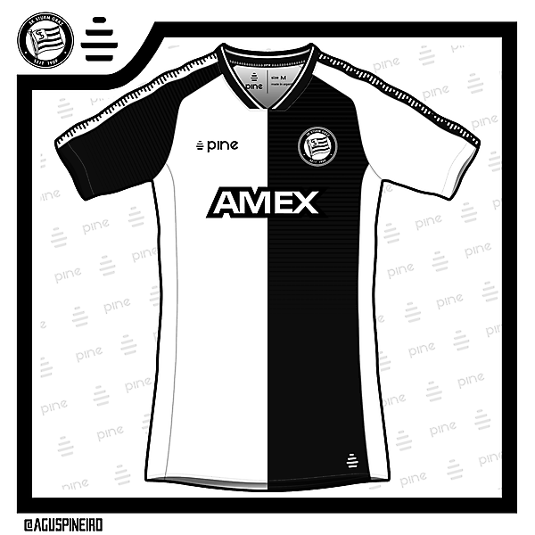 Sturm Graz Home Kit Design by Pine