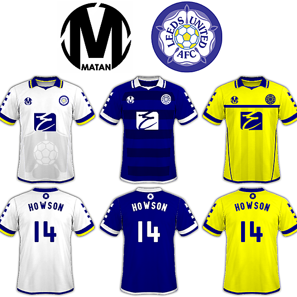 Leeds United AFC - Matan Kit