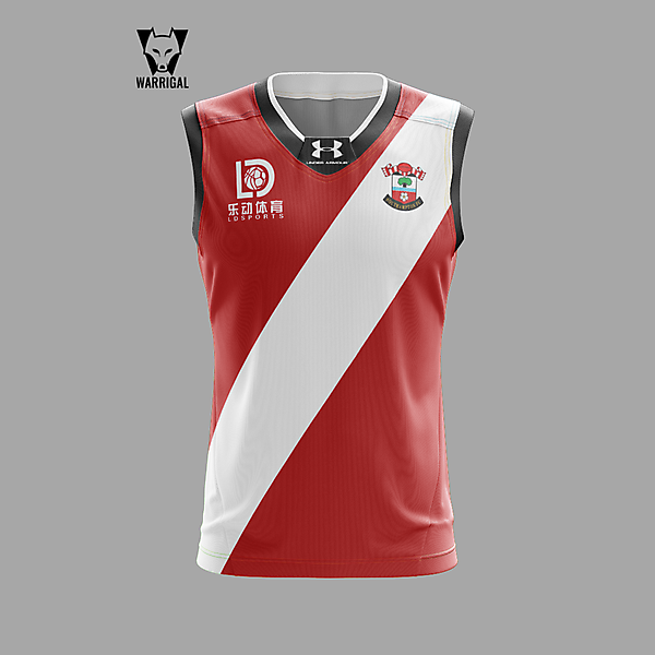 Southampton new AFL style jumper