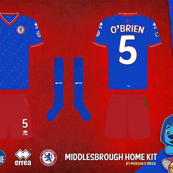 Middlesbrough Home Kit 011 by Morgan OBrien