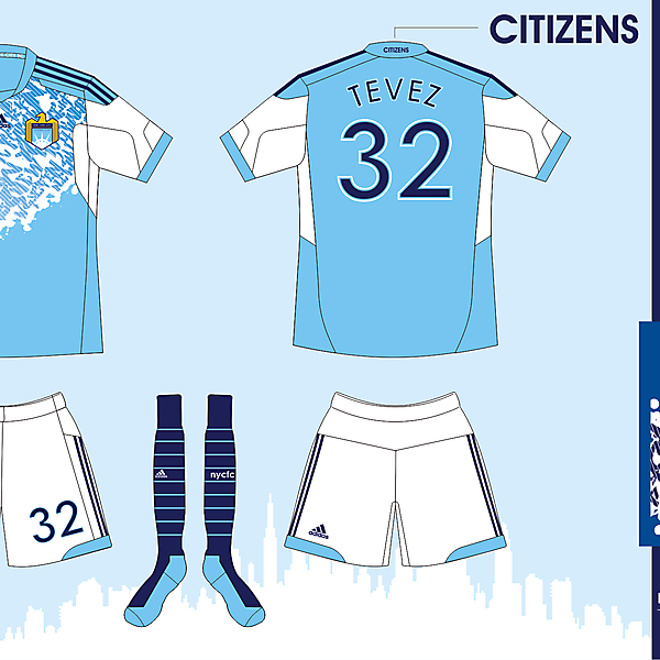 New York City FC - Home Ver 05