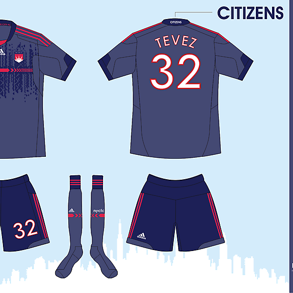 New York City FC - Third Ver 01