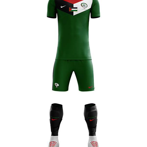 Palestine - Away Concept