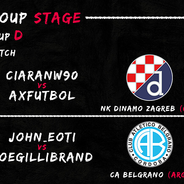 Group D - 3° Match