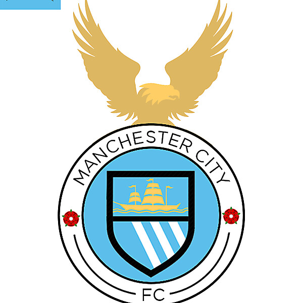 New Manchester City logo
