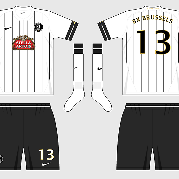 BX Brussels Away Kit