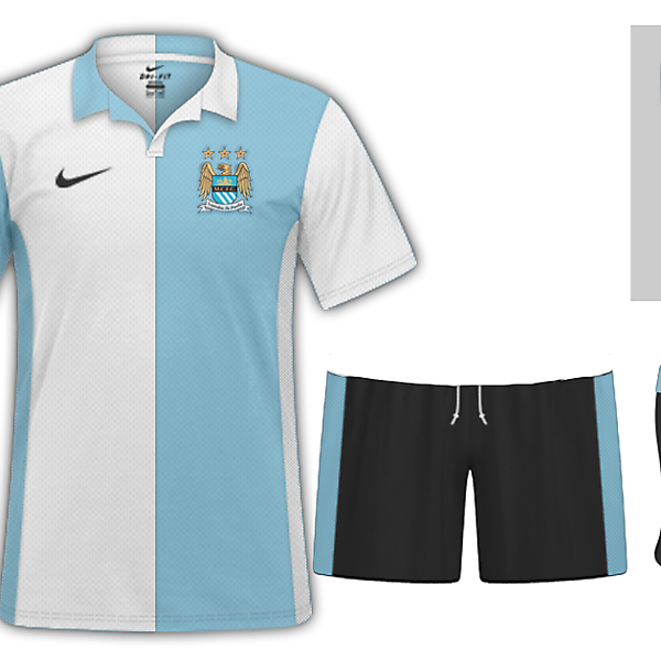 Manchester City Ye Olde Kits Edition