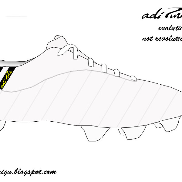 Adipure IV White/Black/Yellow