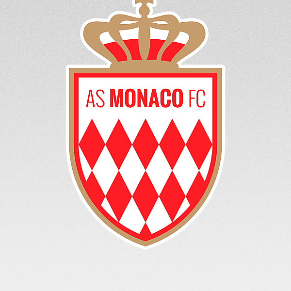 AS Monaco FC - crest redesign
