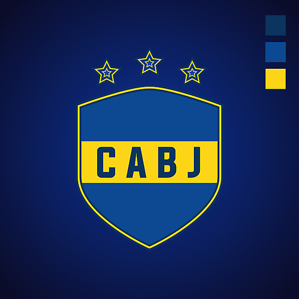 Boca Juniors (Badge redesign)