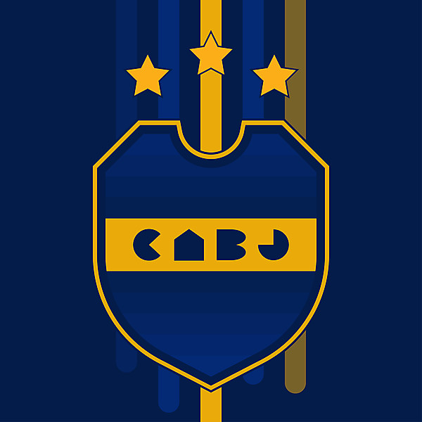 Boca Juniors {Crest Redesign [of the redesign]}