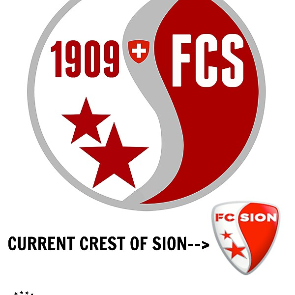 FC SION NEW CREST IDEA