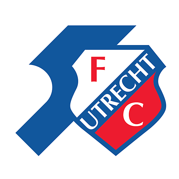 FC Utrecht Fifty Years logo.