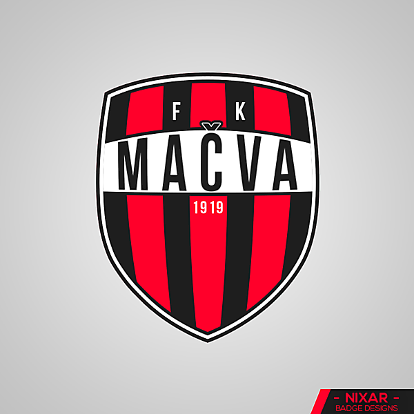 FK Mačva Badge Redesign by Nixar